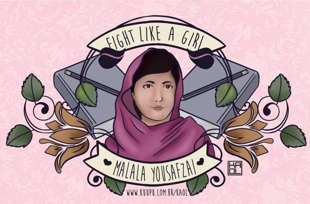 Blog Bruna Nobre: Fight like a girl - ilustras maravilhosas da Kaol Porfírio