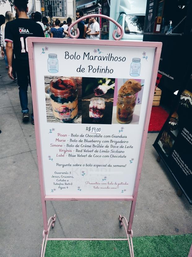 Blog Bruna Nobre: bolo no pote Kombi Provence
