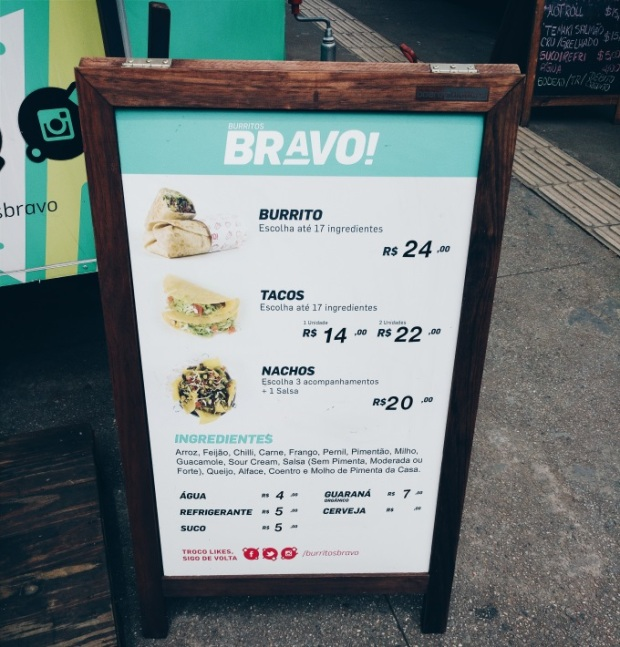 Blog Bruna Nobre: Burritos Bravo Truck Food
