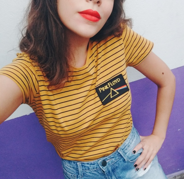 Blog Bruna Nobre: DIY t-shirt com patch