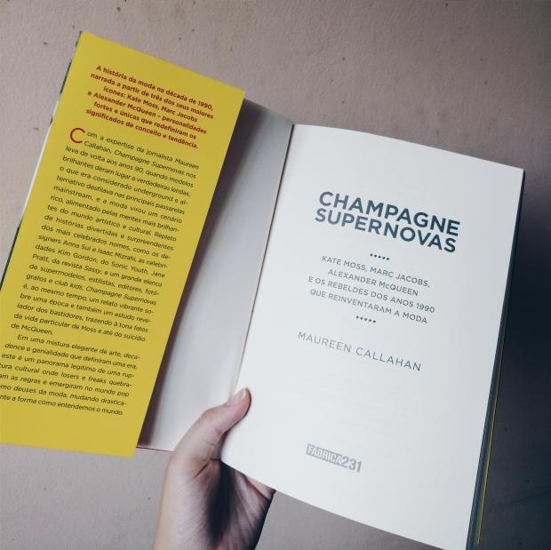 Blog Bruna Nobre: Livro Champagne Supernovas